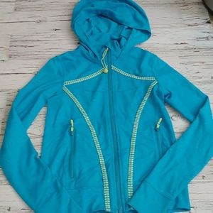 Ivivva Soft Zipup Youth Hoodie Size 10